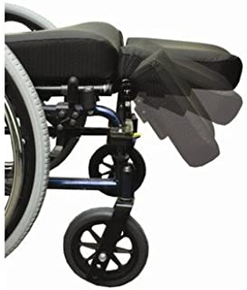 Swing Away Amputee Support Wheelchair Footrest Size: 9