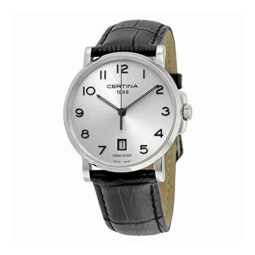 Certina Reloj para Hombres de Cuarzo con Correa en Cuero C017.410.16.032.00