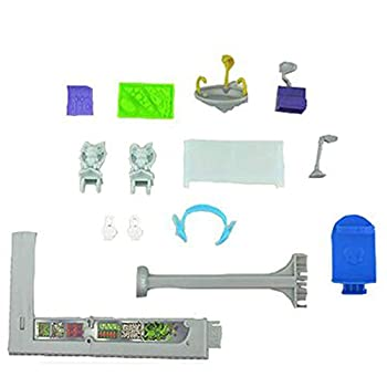 Replacement Parts for Monster High Deadluxe High School Playset CJF48 – Includes DJ Board Cash Register Headphones and a lot more