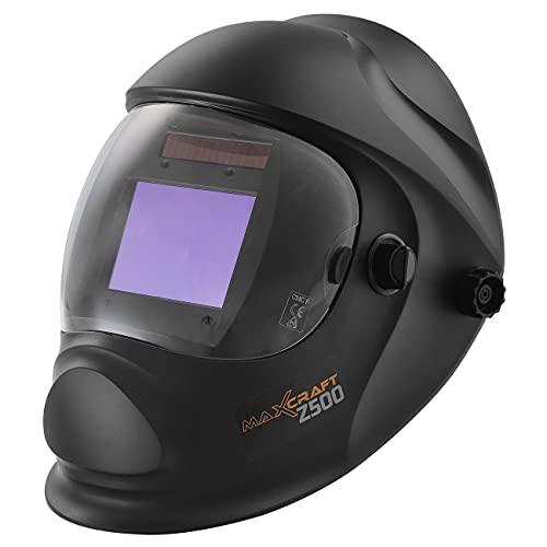 MAXCRAFT Careta Soldar Oscurecimiento Automático 4/5-9/9-13 Máscara de Soldadura de Arco Tig Mig - 4 Sensores - Z500