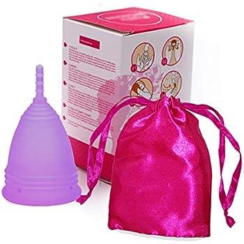 Peut /être port/ée 12 heures La REFERENCE des Coupe menstruelle r/éutilisable CUP MENSTRUELLE HAUTE EFFICACIT/É Small Silicone 100/% NATUREL Tr/ès douce et flexible Hygiene Intime Femme
