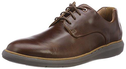 Clarks Zapatos de Cordones Derby para Hombre, Marrón