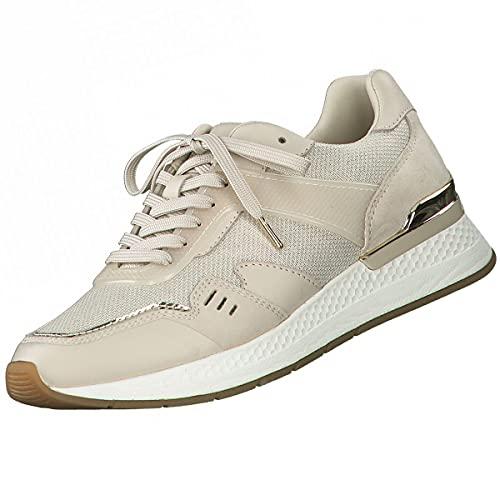 Tamaris Fashletics Sneakers voor dames, beige, beige, 39 EU