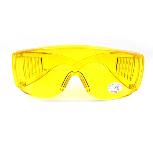 Nikauto 1pcs Coche Aire Acondicionado Fuga Detector UV protección Gafas Gafas de Seguridad para Deporte al Aire Libre
