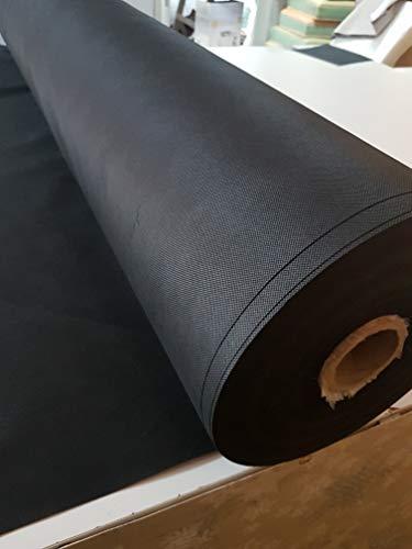 Tejido TNT(Tejido sin tejer, 100cm ANCHO) VENTA POR METROS (Tejido utilizado para mascarillas) (NEGRO) TST