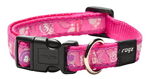 ROGZ HB12-CA Fancy Dress Halsband/Scooter, M, rosa