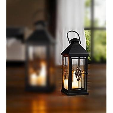 Medium 19 in. Metal European-style Hanging Candle Lantern Product