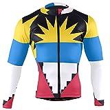 Magnesis Antigua y Barbuda Bandera de los Hombres Ciclismo Jersey Manga Larga Chaqueta Bicicleta Bicicleta Jersey Camisas