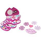 Sbelleti- Palette de Maquillage Coeur sur 4 Niveau avec Miroir, 35374