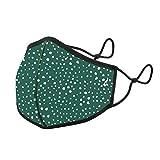 Abbacino Mascarilla homologada y lavable para adulto estampado topos verde…