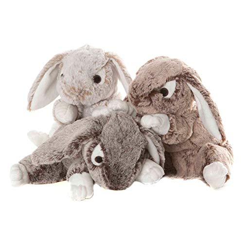 Moll Toys Plüsch Hase 23 cm - weiches Plüschtier Kuscheltier Stofftier Bunny assortiert