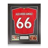 exclusivememorabilia.com Camiseta del Liverpool firmada por Trent Alexander-Arnold. Marco estándar