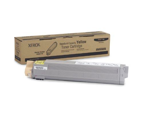 Xerox Cartucho de tóner amarillo normal (7.500 páginas*). - Tóner para impresoras láser (Cartucho, Amarillo, Xerox, Phaser 7400, Gris, Caja)