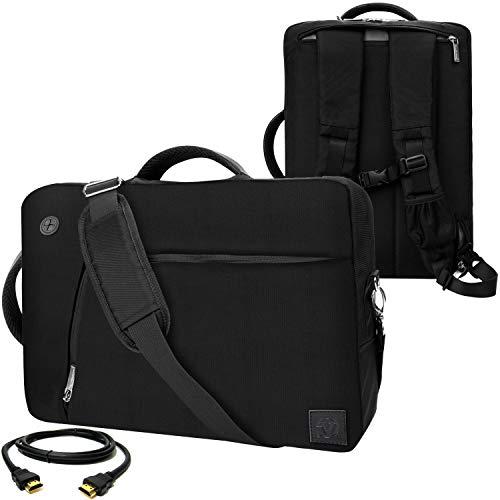 VanGoddy Slate 3-in-1Ibrida di Borsa per dell Latitude/Inspiron/Precision Mobile Workstation/XPS/Alienware/35,6cm -15.6in + 3,7m Cavo HDMI, Black (Bianco) - EHLAPLEA033DAT402LU.06