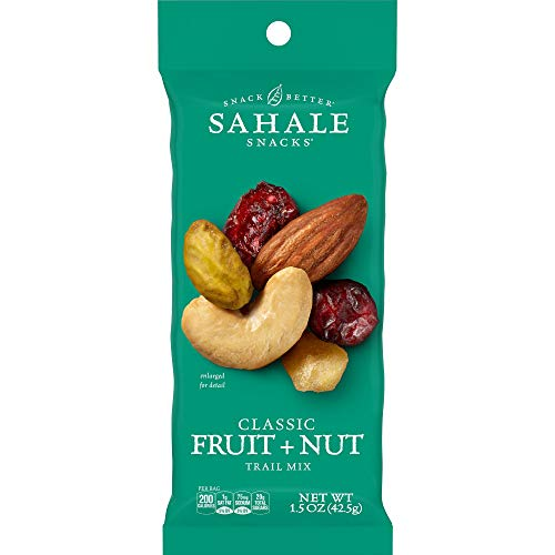 Sahale Snacks Classic Fruit and Nut Trail Mix 15 Ounces Pack of 18