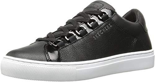 Skechers Side Street-Core-Set, Zapatillas para Mujer, Negro (Black Blk), 36.5 EU