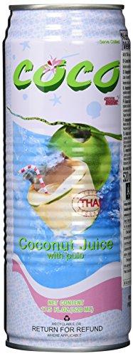 Coco Oriental Drinks Kokos & Fruchtflleisch, 24er Pack (24 x 520 ml)
