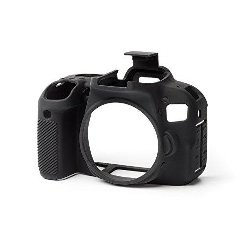 easyCover ECC800DB Secure Grip Camera Case for Canon 800D/ T7i, Black