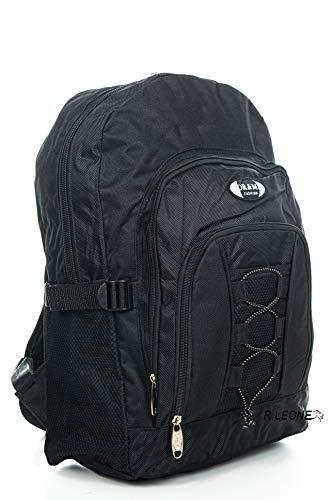 Ormi Zaino per Sport Viaggio Scuola Lavoro per MacBook PRO, iPad e Notebook 963/7492 (Nero, Piccolo)