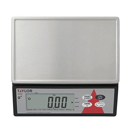 Taylor Precision TE10R Digital 10 Lb. Portion Scale with S/S Platform