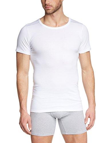 Otto Kern Underwear Shirt 1/2 Arm Maillot De Corps, Blanc (Weiss 1), Medium (Taille Fabricant: 5/M) Homme