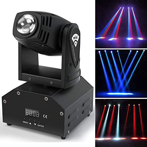 U`King Moving Head Stage Light RGBW (4 in 1) DMX512 Rotating Stage...