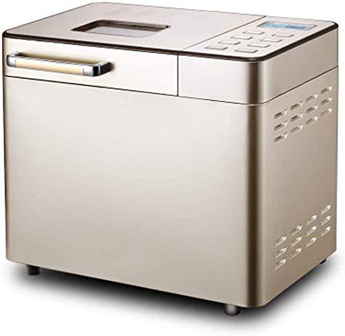 Jszzz Máquina de Pan, 25 Funciones, Configuraciones de Aislamiento, de Frutas y automática Tuerca dispensador de múltiples Funciones Inteligente Aspersión Yogur de Frutas y Fideos