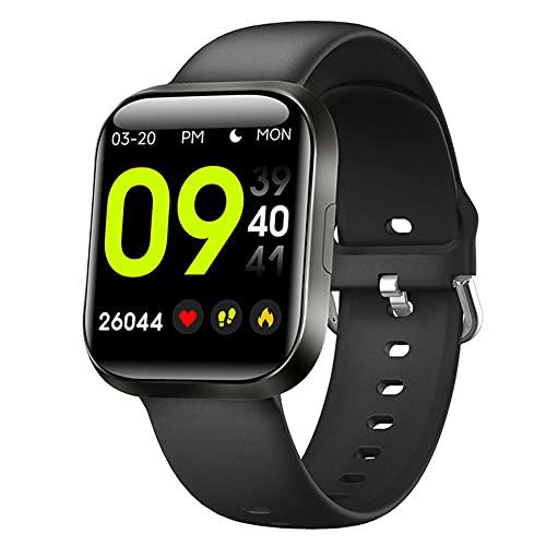 Smartwatch Hombre, Reloj Inteligente Impermeable IP68 con Pulsómetro Monitor de Sueño Reloj Deportivo 20 Modos para Android iOS 30 Días en Espera