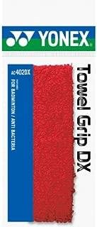 Yonex Badminton Towel Grip AC402DX Red