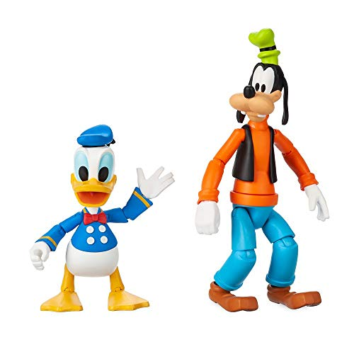 Disney Goofy and Donald Duck Action Figure Set by Toybox