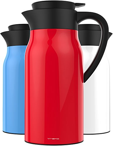 Vremi 51 oz Coffee Carafe - 1.5 liter Tea Thermos Large...