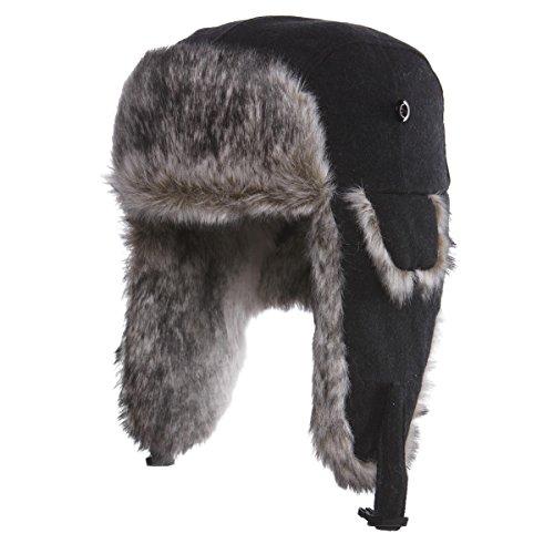 Chaos Dylon Wool Blend Trapper Hat (Unisex)