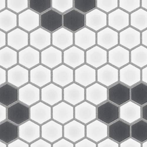 クッションフロア ハニカムモザイク 床保護 フロアシート 切り売り m単位 巾91cm SHM-1116