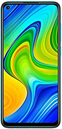 "Xiaomi Redmi Note 9 4GB RAM + 128GB, 48MP Quad Camera Hotshot, 5020mah Battery, 6.53 ""FHD +, LTE Factory Unlocked Smartphone - Versión Internacional (Forest Green)"