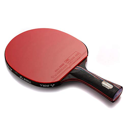 Best Review Of FSS Ping pong paddle Performance-Level Table Tennis Racket, with Carbon Technology fo...