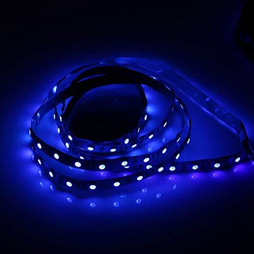 Folany Tiras de luz LED, Tiras de luz 5M 5V 5050 Tira de luz LED Retroiluminación LED de TV, Lámpara de decoración de retroiluminación de TV Tira de LED RGB USB, para(Not Waterproof)