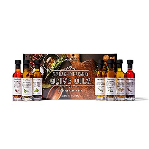 Modern Gourmet Foods, Olive Oil Spice Infused Gift Set, Includes Olive Oil...