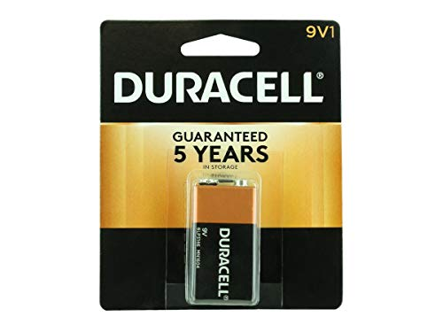 Duracell Alkaline Battery 9 V Card 1 (12 Pack)