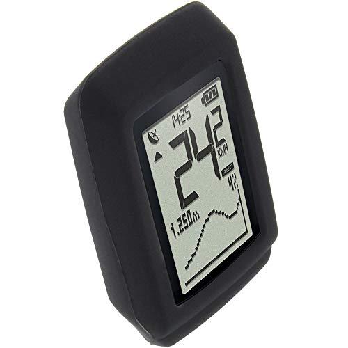foto-kontor Funda para Sigma Pure GPS Protectora TPU Carcasa protección Negra