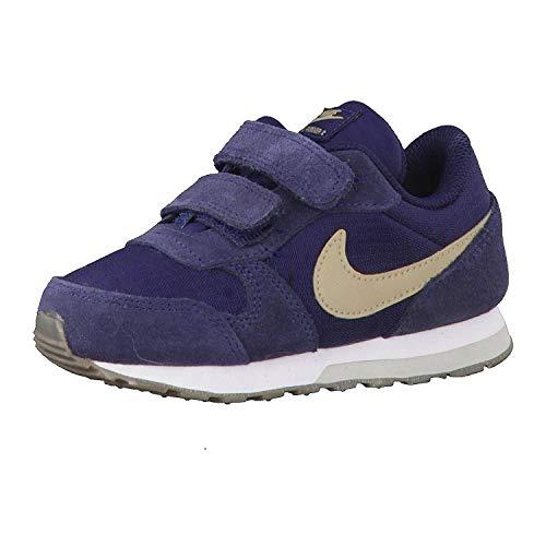 Nike MD Runner 2 TDV 806255 409, Zapatillas Unisex niños, Multicolor (Indigo 001), 18.5 EU