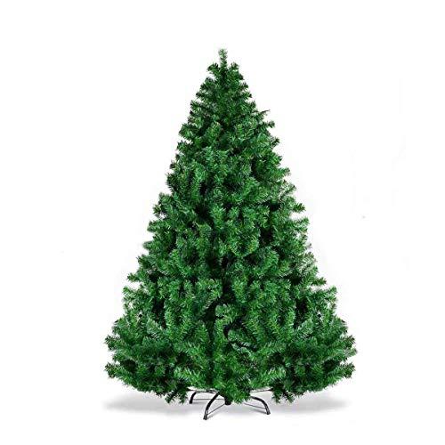 BonusAll 6.8ft Christmas Tree Premium Artificial Xmas Pine Holiday Decoration Green