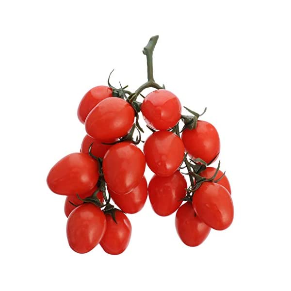 Yardwe Artificial Bunch of Fruit Realistic Artificial Fake Fruit for Home Party Kitchen Decoration Photography Props(Yellow)