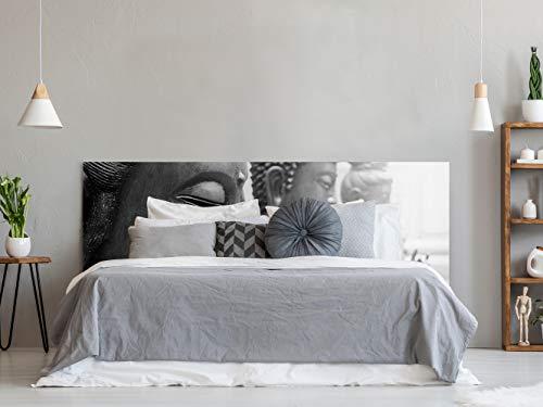 Cabecero Cama PVC Impresión Digital | Budas 150 x 60 cm | Cabecero Original y Económico