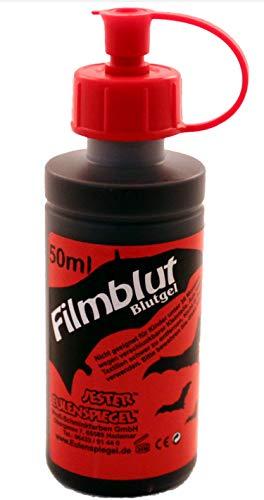 Eulenspiegel 405024 - Filmblut dunkel, 50 ml, Kunstblut für Spezialeffekte