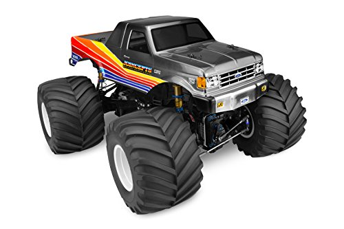 J Concepts 0302 1989 Ford F-250 Monster Truck Body with Racerback, Fits Clod Buster Or Similar