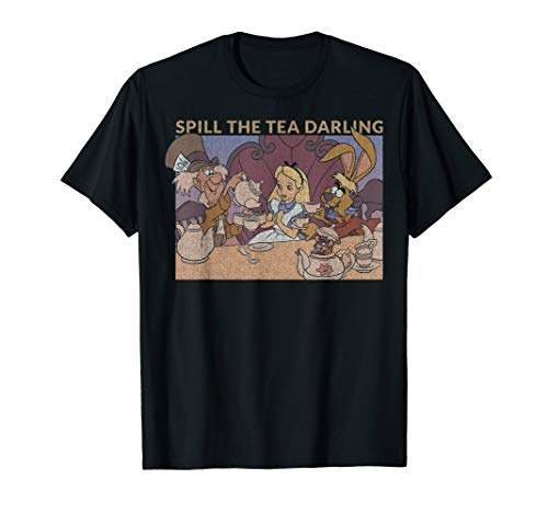 Disney Alice In Wonderland Spill The Tea T-Shirt