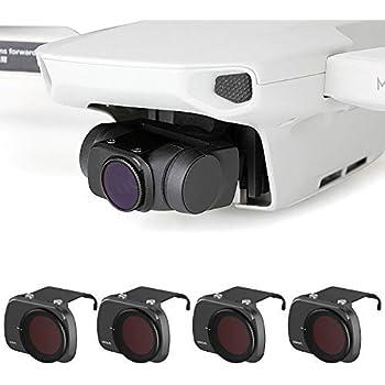 Scratch-Proof Camera Lens Filter Fosheng ND4+ND8+ND16+ND4-PL+ND8-PL+ND16-PL Filter Set for DJI OSMO Pocket