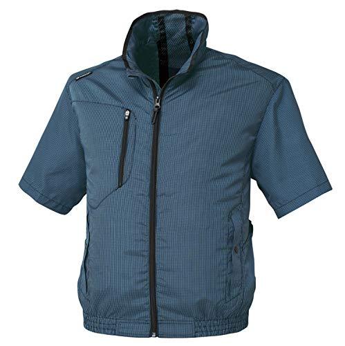 CO-COS GLODITOR 空調風神服 エアーマッスルⓇ半袖ジャケット G-5210 1 ネイビー S