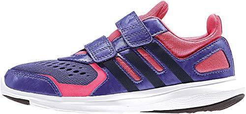 adidas Hyperfast 2.0 CF K - Zapatillas para niño, Color Morado/Rosa/Negro, Talla 33