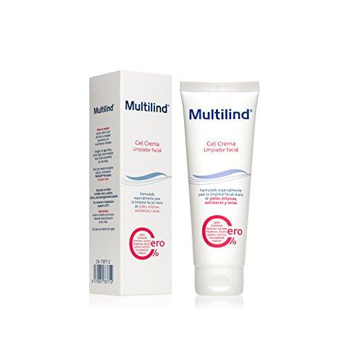 Multilind - Gel Crema, Limpiador Facial para Pieles Atópicas -Extrasecas - Secas [ 125ml ]
